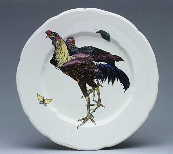 Plate, Félix Bracquemond (French, Paris 1833–1914 Sèvres), Creamware, French, Paris
