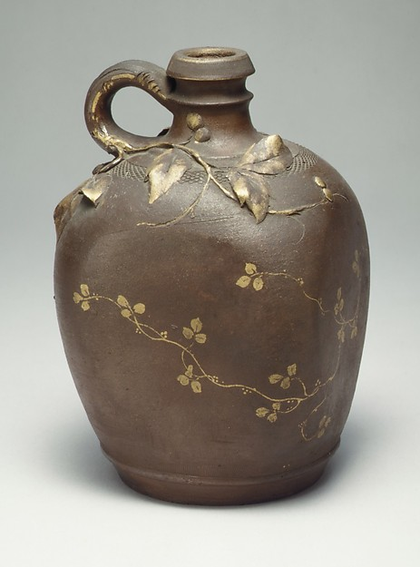 Jug, Haviland & Co. (American and French, 1864–1931), Stoneware, French, Limoges