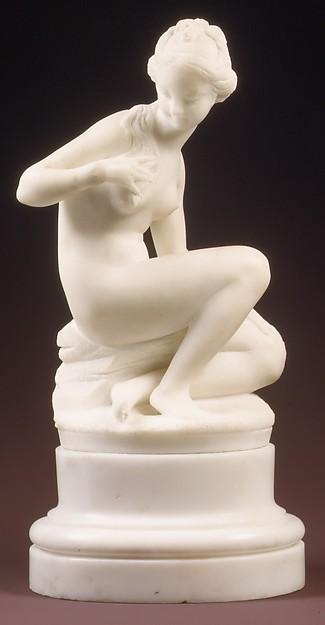 Bather, Manner of Étienne-Maurice Falconet (French, Paris 1716–1791 Paris), Marble, French, Paris