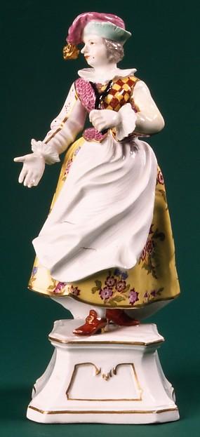 Columbine, Höchst Manufactory (German, 1746–1796), Hard-paste porcelain, German, Höchst