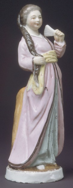 Oriental Woman, Possibly Imperial Porcelain Manufactory, St. Petersburg (Russian, 1744–present), Hard-paste porcelain, Russian, possibly St. Petersburg