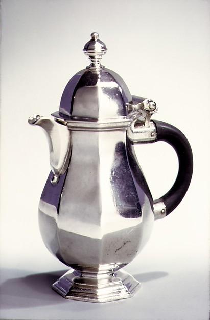 Milk jug, Simon Pantin I (British, ca. 1672–1728), Silver, British, London