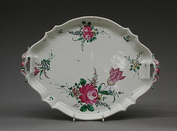 Platter, Faience (tin-glazed earthenware), Italian, Pesaro