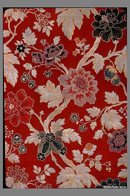 Piece, Bouvard, Burel et Cie, Silk, French, Lyons