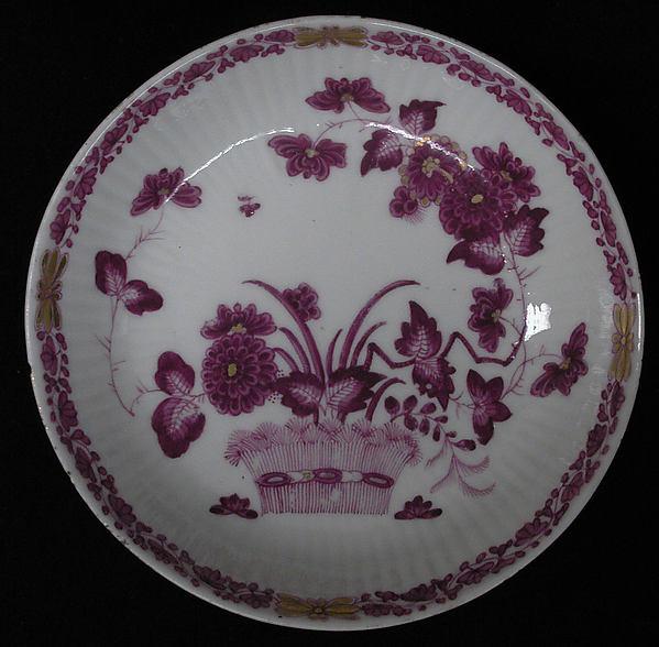 Saucer, Royal Porcelain Manufactory, Berlin (German, founded 1763), Hard-paste porcelain, German, Berlin
