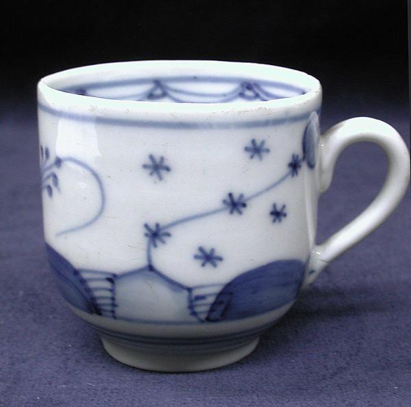 Cup and saucer (assembled), Giesshübel, Hard-paste porcelain, Bohemian