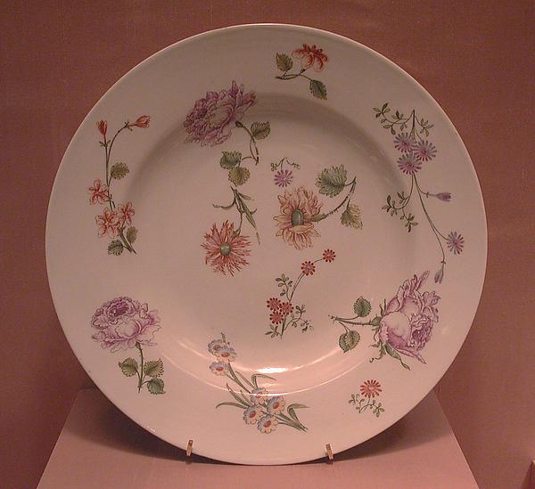 Dish, Vienna, Hard-paste porcelain, Austrian, Vienna