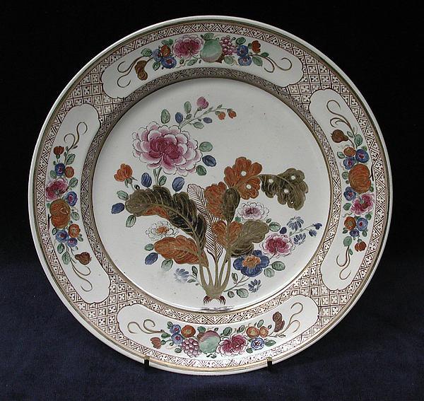 Plate, Tin-glazed earthenware, probably Italian, Pesaro