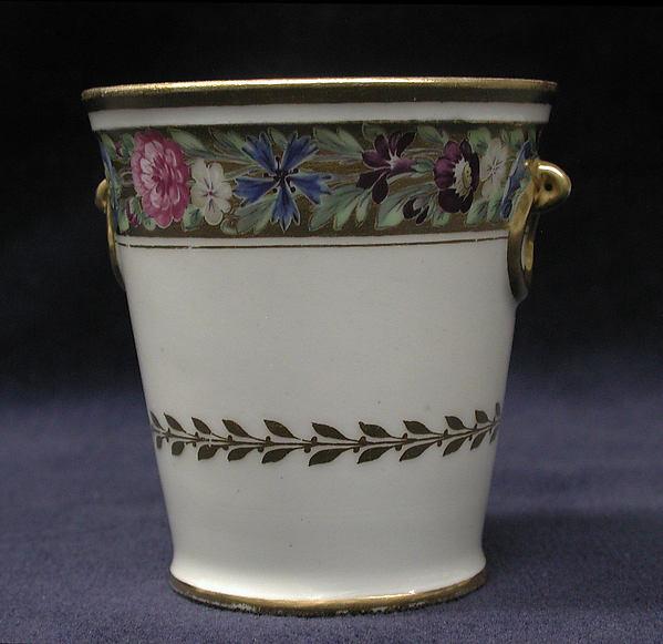 Seven custard cups, Imperial Porcelain Manufactory, St. Petersburg (Russian, 1744–present), Hard-paste porcelain, Russian, St. Petersburg
