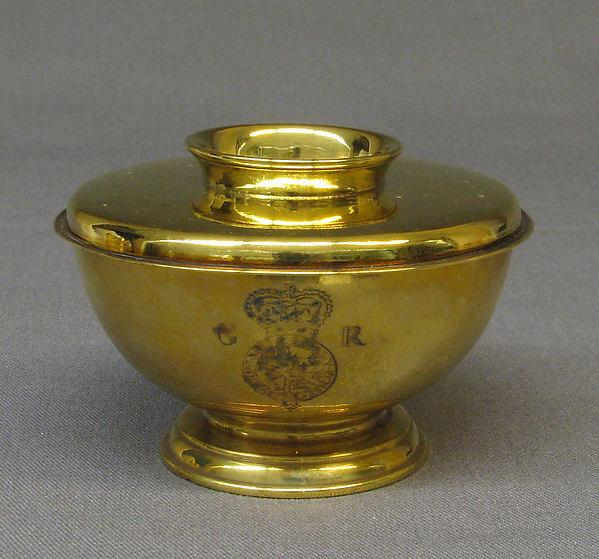 Sugar bowl with cover, Simon Pantin I (British, ca. 1672–1728), Silver, British, London