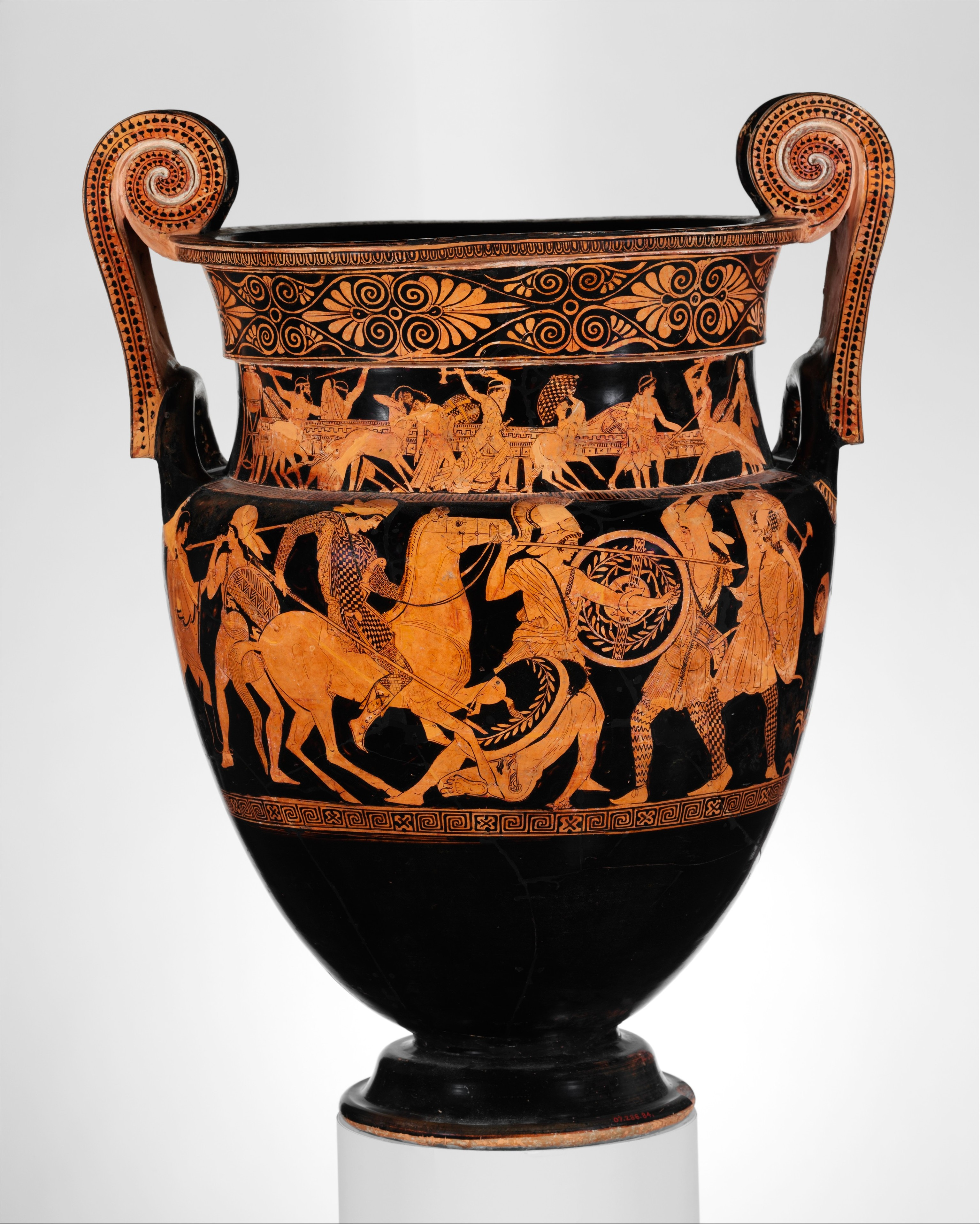 Attributed to the painter of the woolly satyrs terracotta volute share by email reviewsmspy