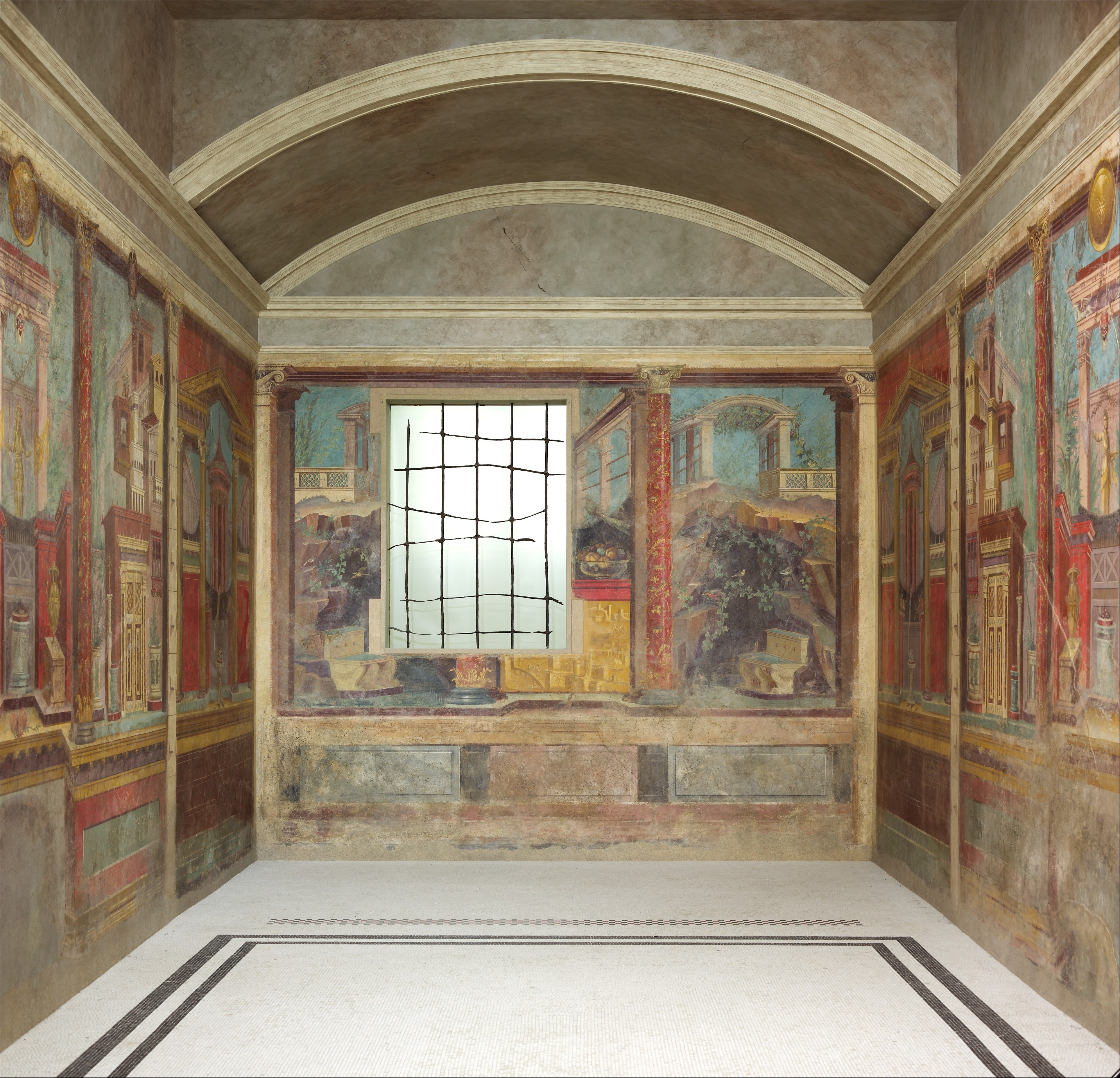 Bedroom Art Painting: Cubiculum (bedroom) From The Villa Of P. Fannius Synistor