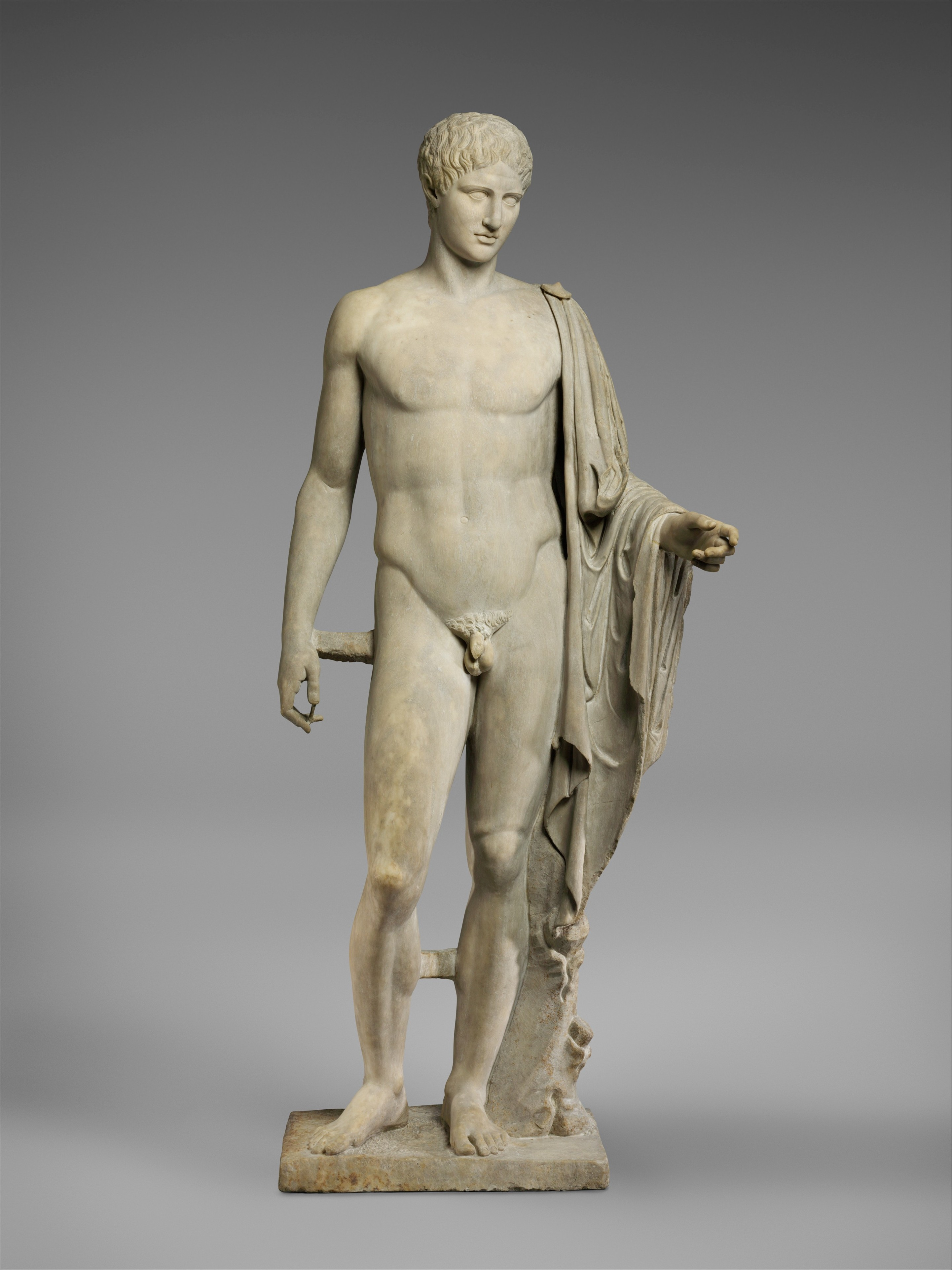Copy Of Work Attributed To Polykleitos  Marble Statue Of -3784