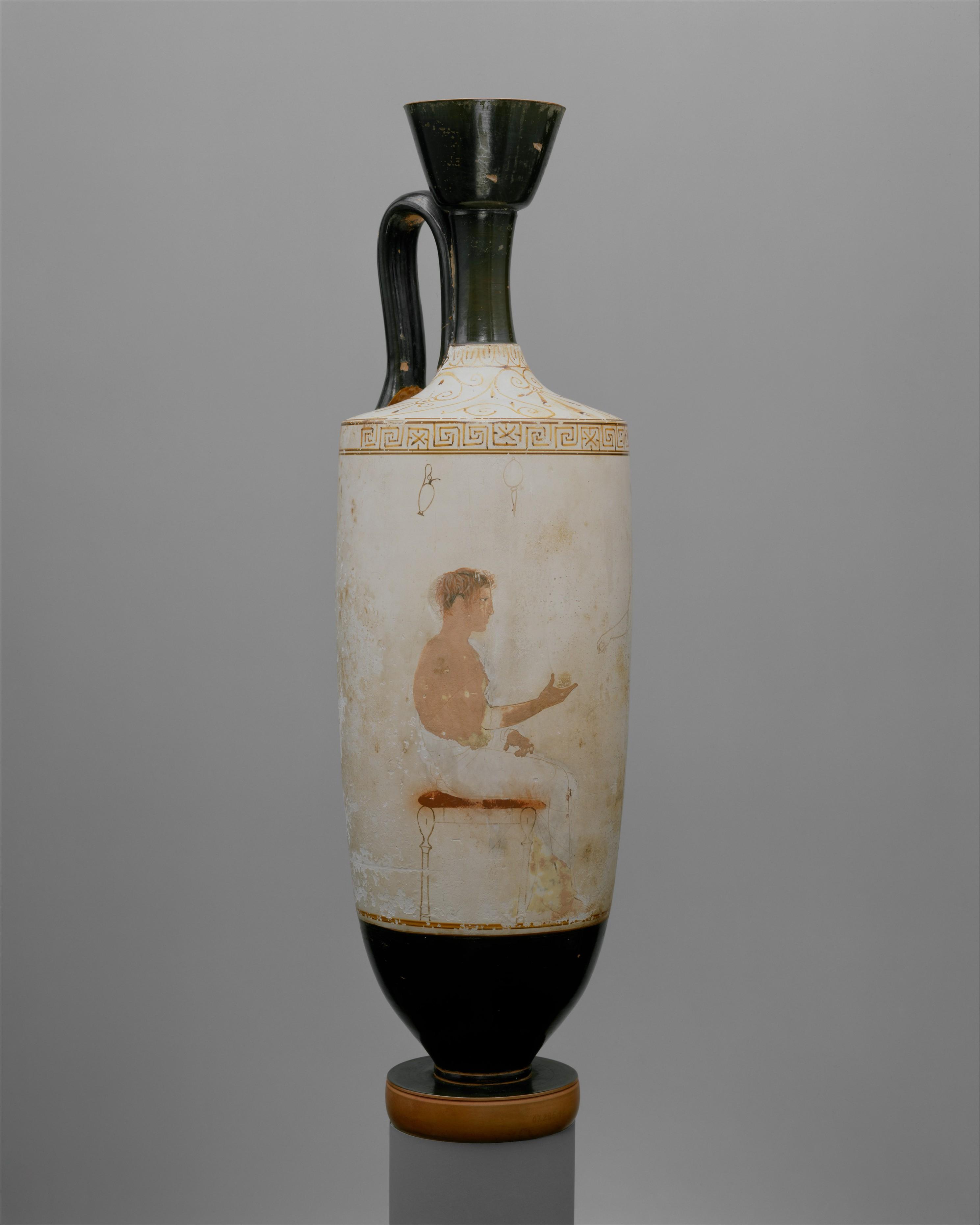 Attributed to the achilles painter terracotta squat lekythos terracotta lekythos oil flask reviewsmspy