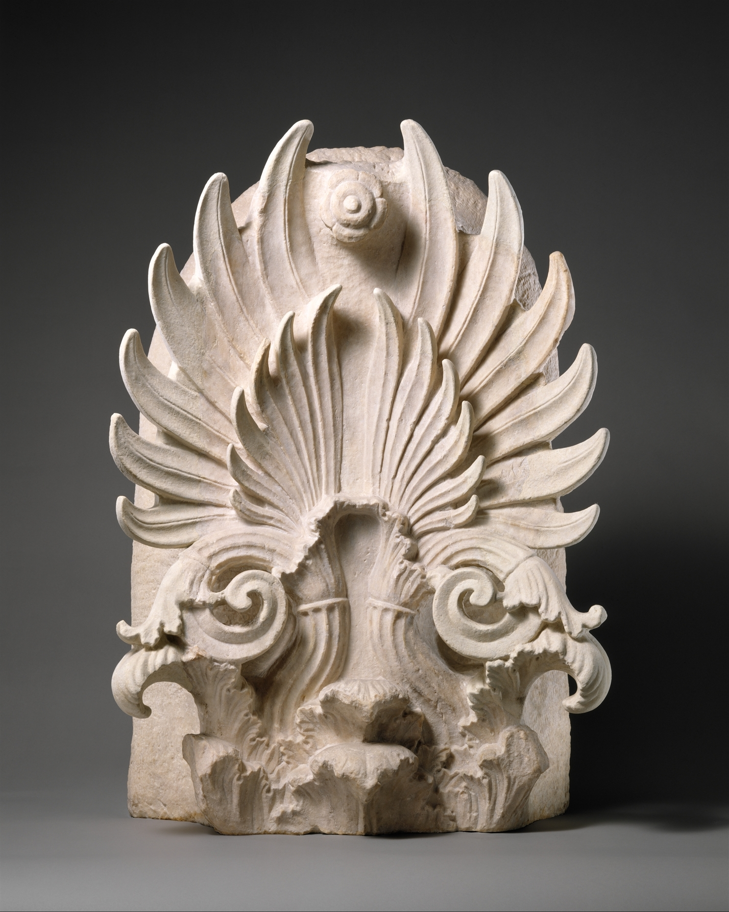 Marble Akroterion Greek Attic Classical The Met