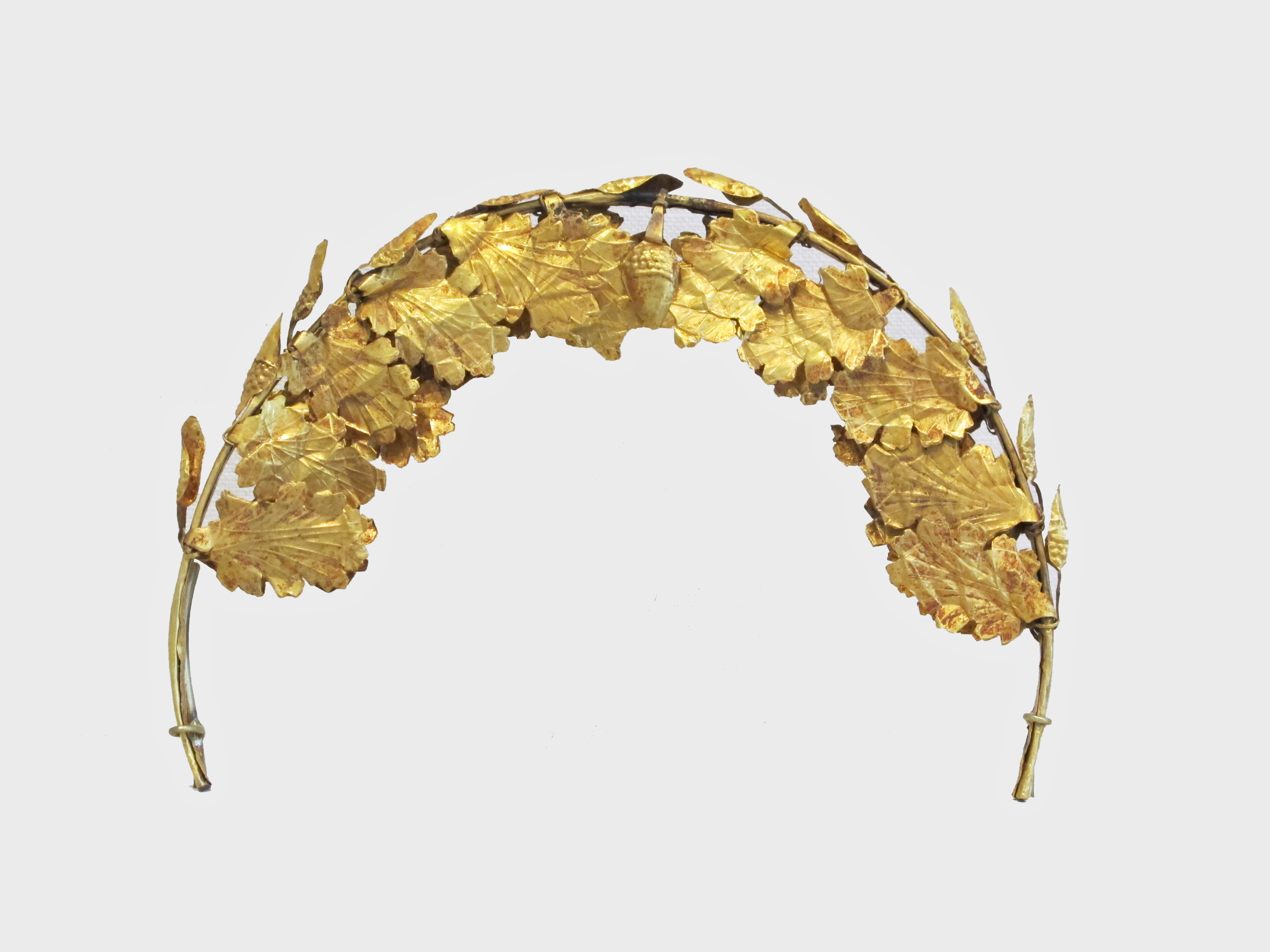 Eccezionale Gold funerary wreath | Roman | Imperial | The Met RS69