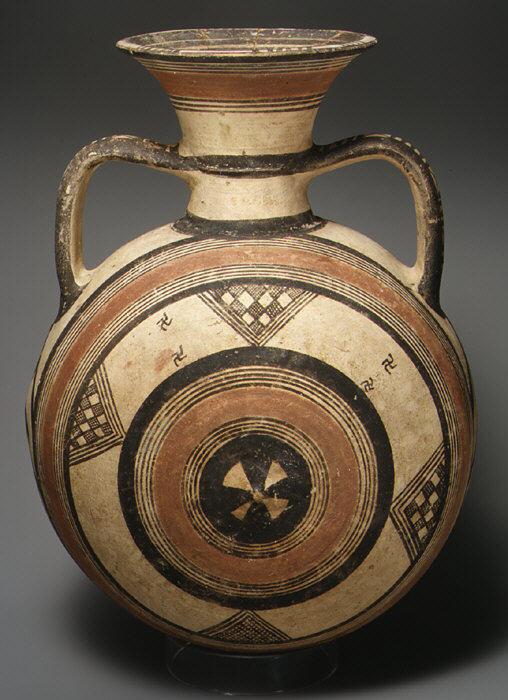 Terracotta Jar Cypriot Cypro Geometric Iii The Met