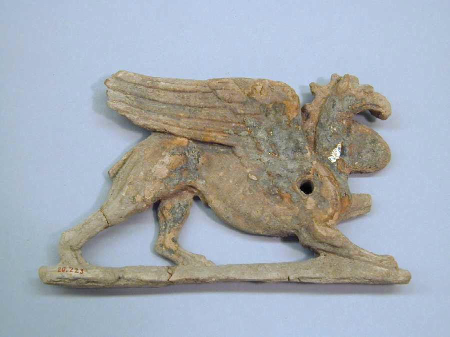 Terracotta appliqué greek south italian tarentine hellenistic