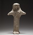 Standing female figurine (cruciform), Terracotta, Cypriot