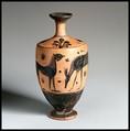 Lekythos, Terracotta, Greek, Attic