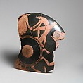 Kylix fragments, 6, Attributed to the manner of the Antiphon Painter, Terracotta, Greek, Attic