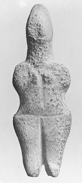 Marble female figure, Marble, Cycladic