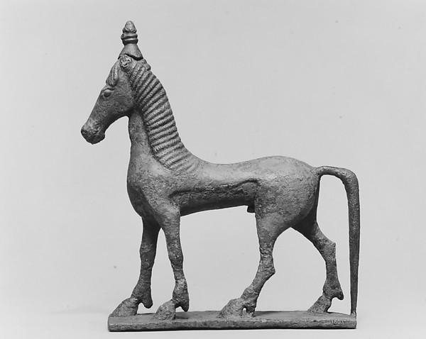 Bronze horse, Bronze, South Italian