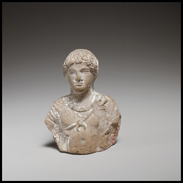 Youth, Terracotta, Cypriot