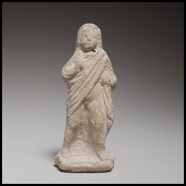 Child grotesque, Terracotta, Greek, Cypriot