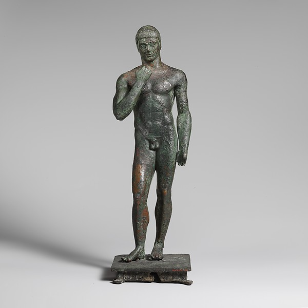 Bronze youth, Bronze, Greek