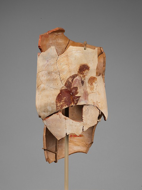 Terracotta lekythos (oil flask), Attributed to the Painter of the New York Hypnos, Terracotta, Greek, Attic