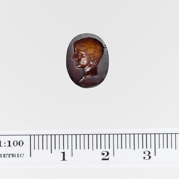 Carnelian ring stone, Carnelian, Roman