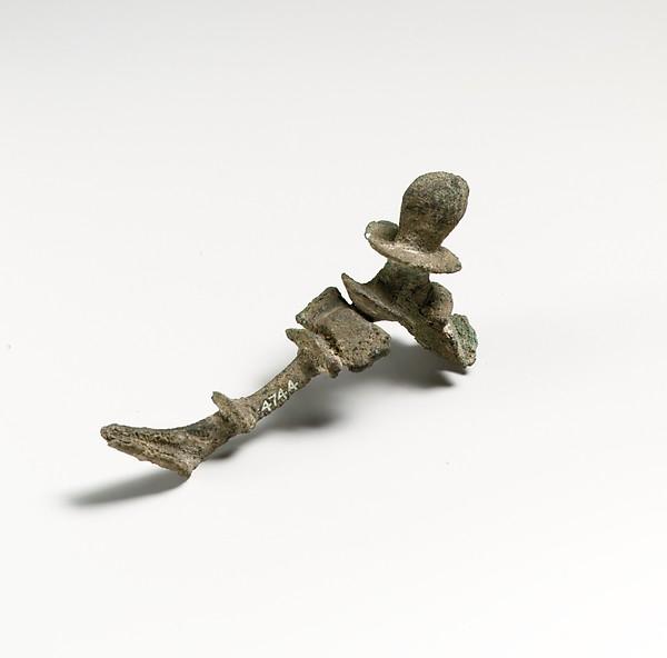 Fibula, Bronze, Greek, Cypriot