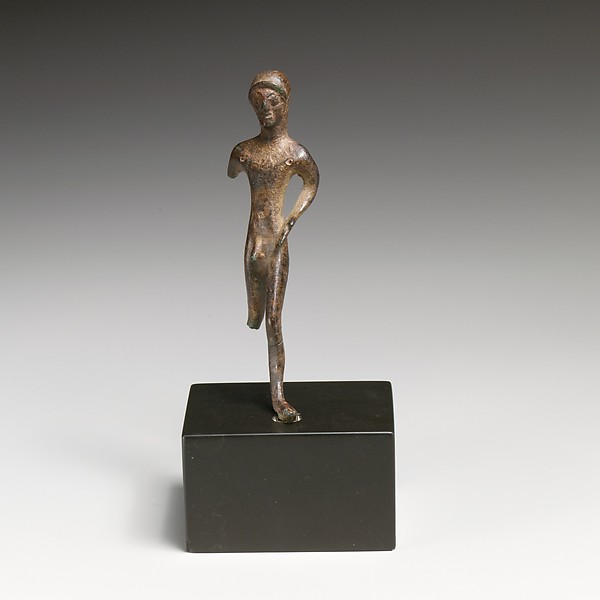 Statuette of a youth, Bronze, Etruscan