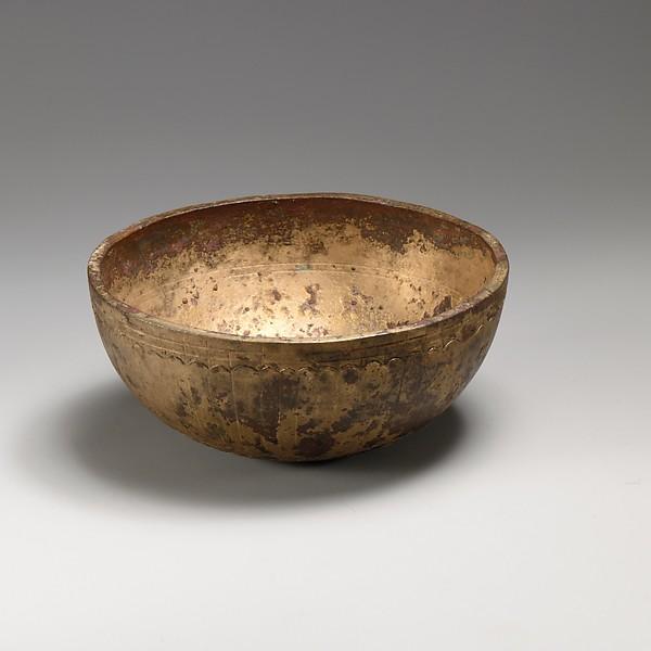 Bronze bowl, Bronze, Greek