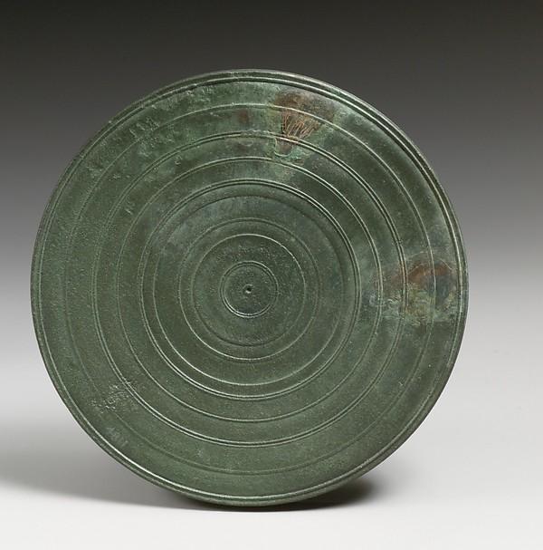 Mirror cover, Bronze, Roman, Cypriot