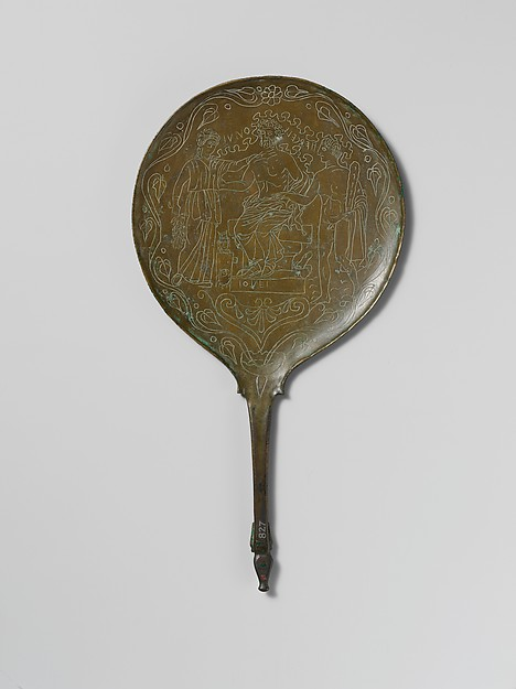 Bronze mirror, Bronze, Praenestine