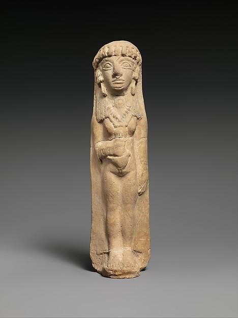 Terracotta woman, Terracotta, Cypriot