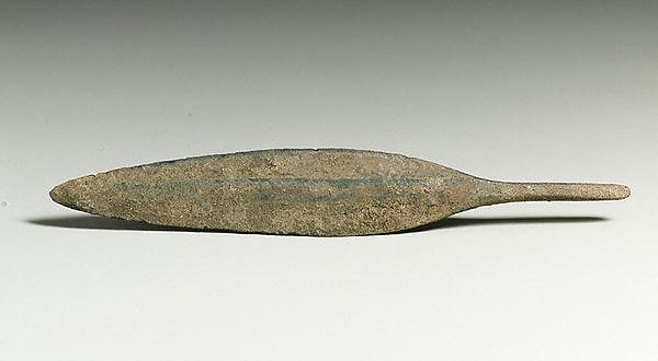 Bronze arrowhead, Bronze, Cypriot