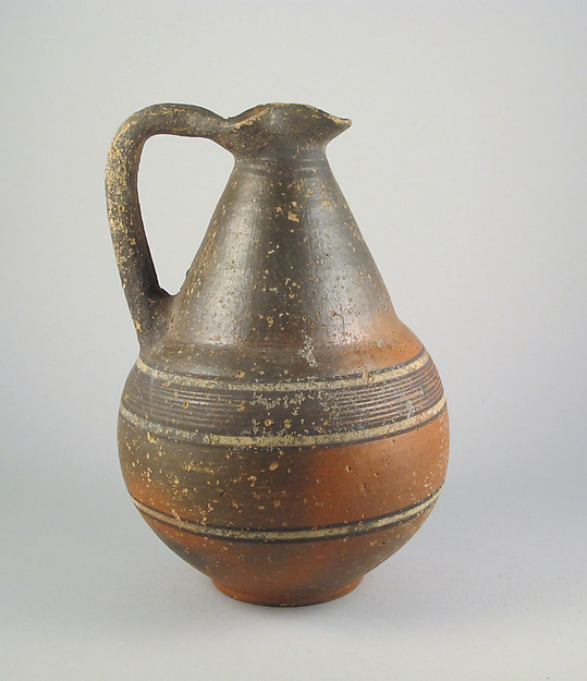 Jug, Terracotta, Cypriot