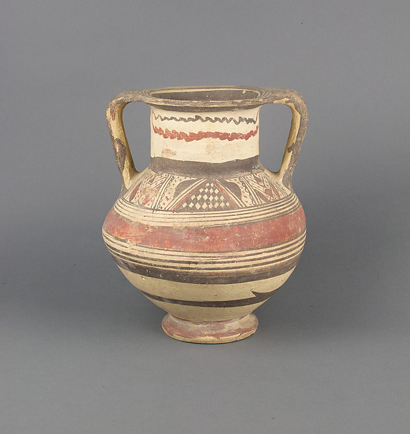 Krater, Terracotta, Cypriot