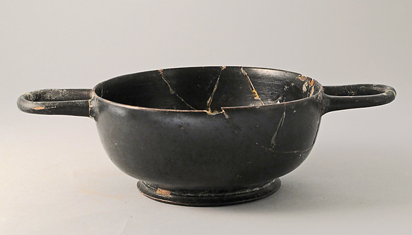 Skyphos, Terracotta, Greek, Attic