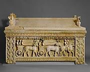 Limestone sarcophagus: the Amathus sarcophagus