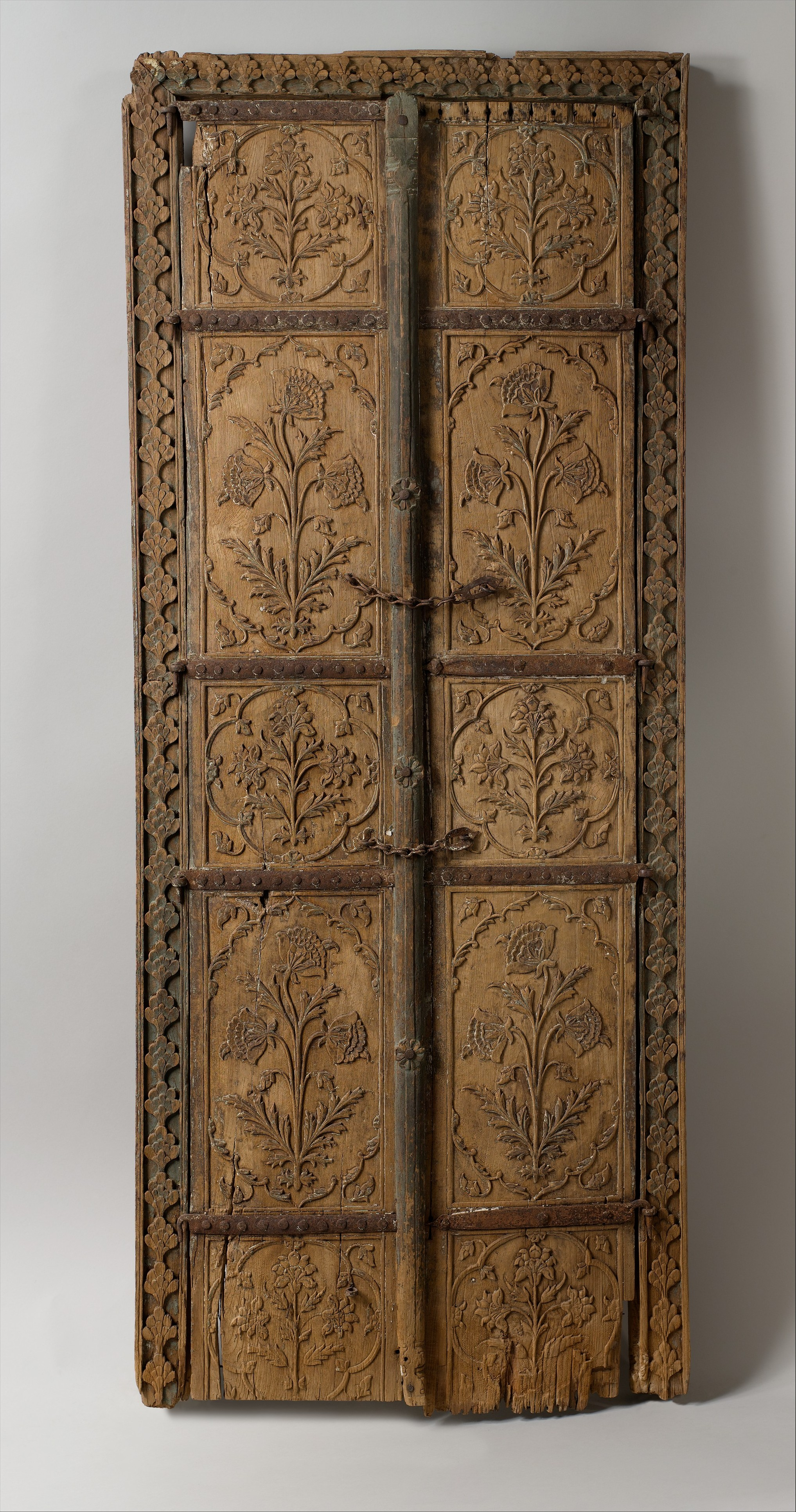 Pair Of Flower Style Doors The Met