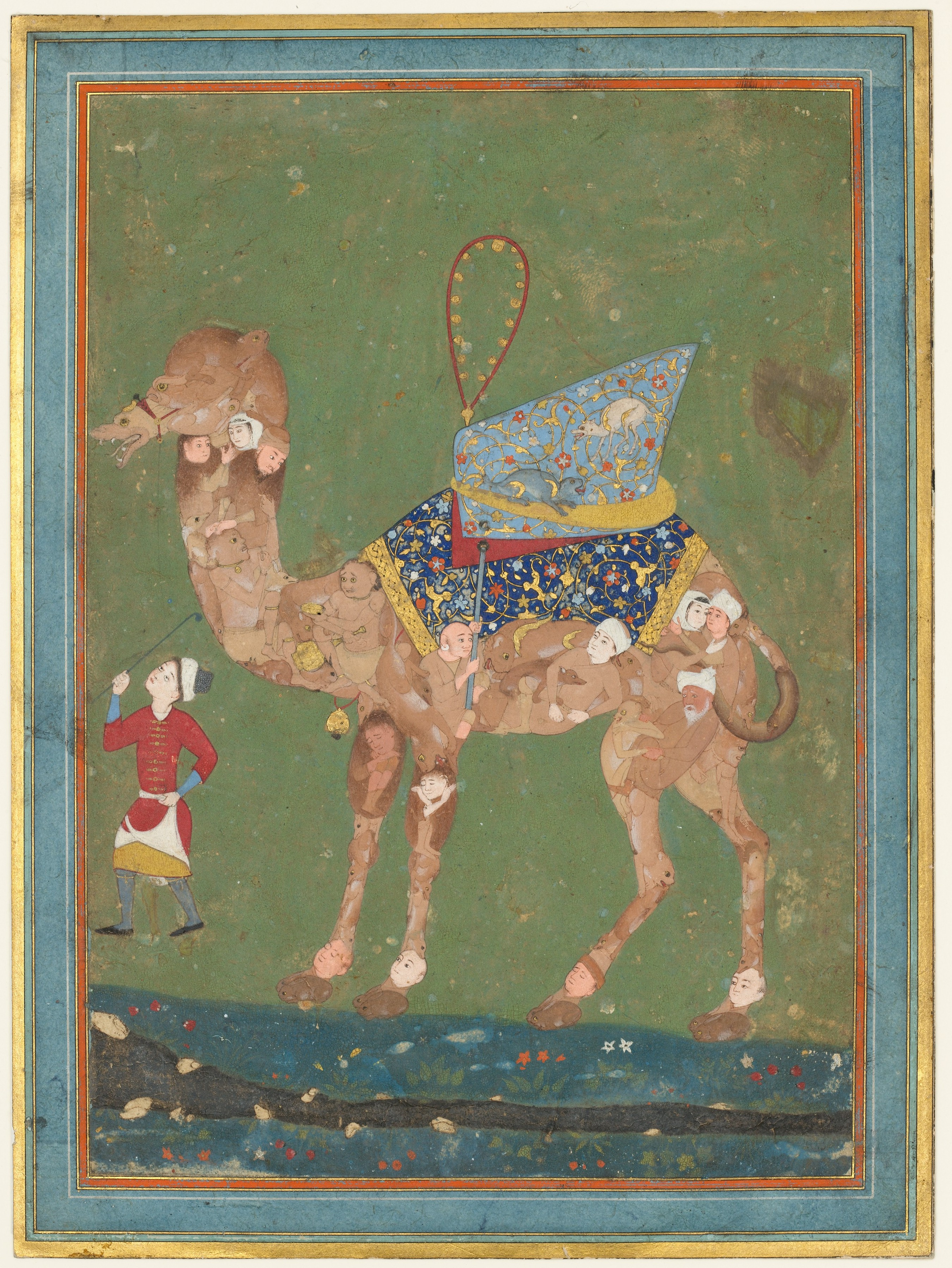 new products d0bd8 38ec0 Composite Camel with Attendant | The Met
