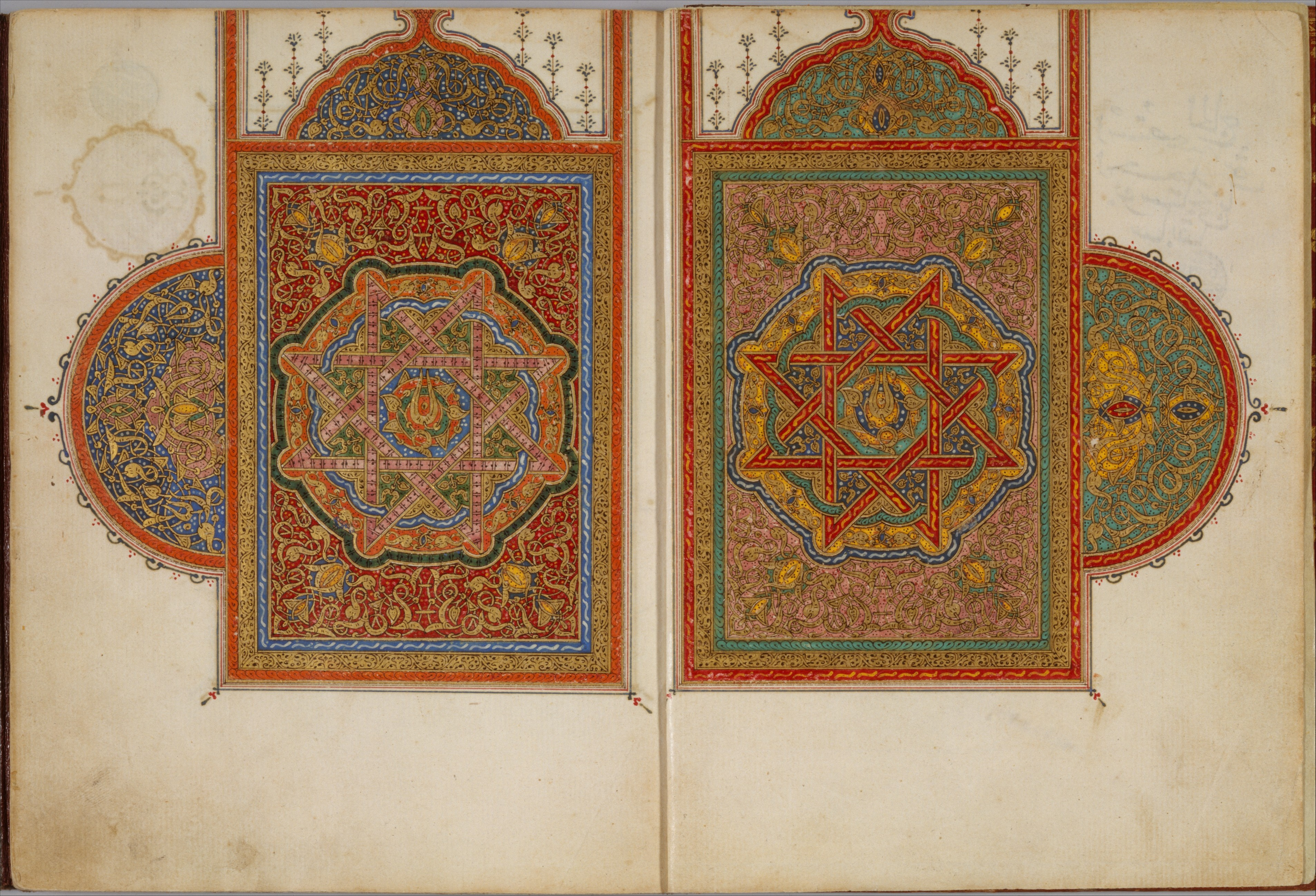 A Manuscript Of Five Sections Of A Qur An The Met