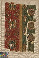 Woven Tapestry Fragment, Wool; tapestry weave