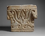 Capital, Alabaster, gypsum; carved