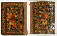 Bookbinding (Jild-i kitab), Pasteboard; painted and lacquered