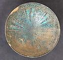Bowl, Stonepaste; underglaze painted